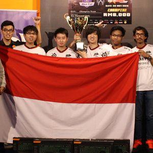 Lagi, Tim Counter Strike Indonesia Angkat Piala di Malaysia