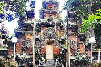 Kisah Pura di Bali dengan Kisah Rambut Sakti