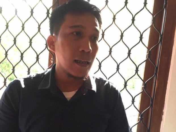 Kepala Divisi Riset dan Networking LBH Pers Asep Komarudin  (afr/detikINET)