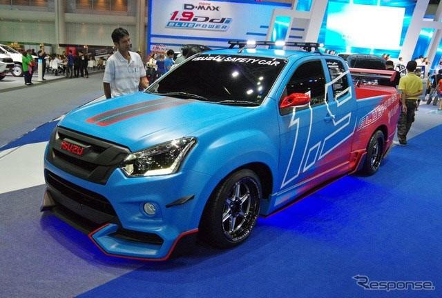 Isuzu D-Max Safety Car
