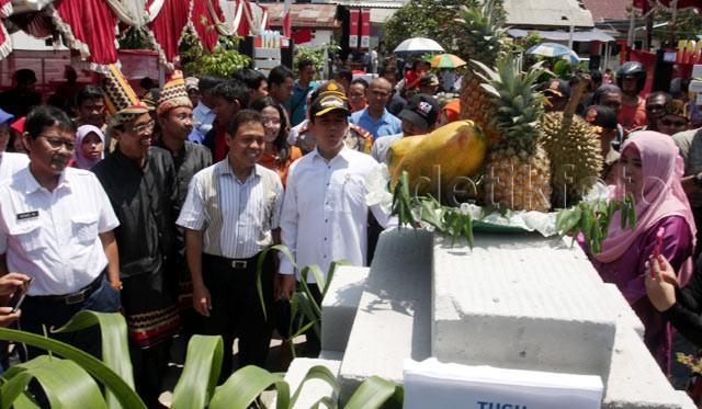 Menteri Yuddy Tinjau TPS di Depok