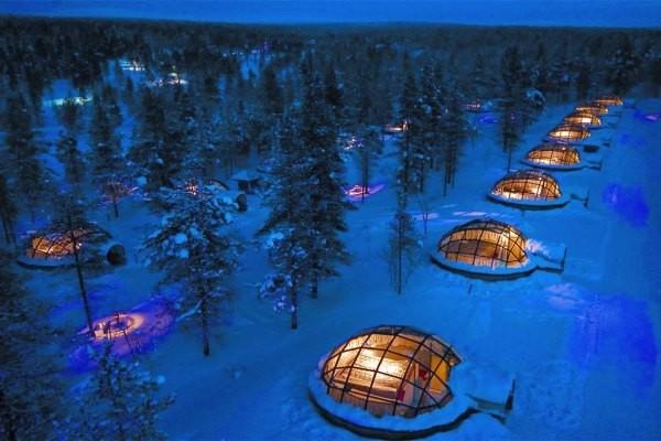 Hotel Kakslauttanen yang unik di Finlandia (kakslauttanen.fi)
