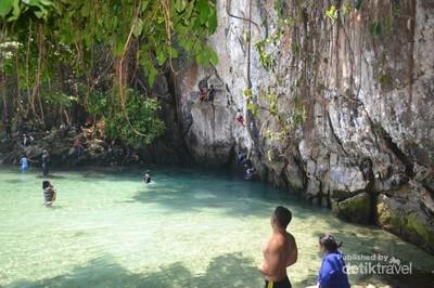 Sungai di Sultra Ini Diyakini Sebagai yang Terpendek di Dunia