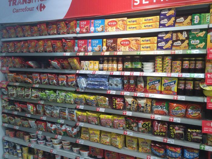 Carrefour Hadirkan Berbagai Produk Makanan Dari Korea