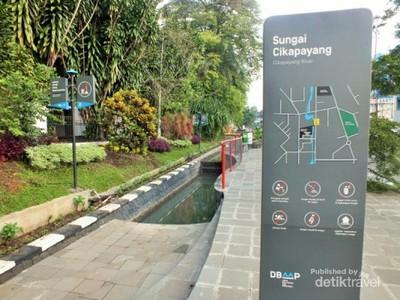 Cikapayang, Sungai Jernih di Tengah Kota Bandung