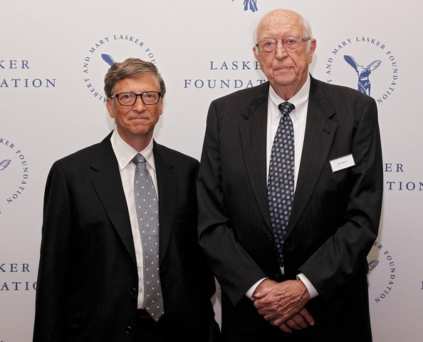 Bill Gates & ayahnya (gettyimages)