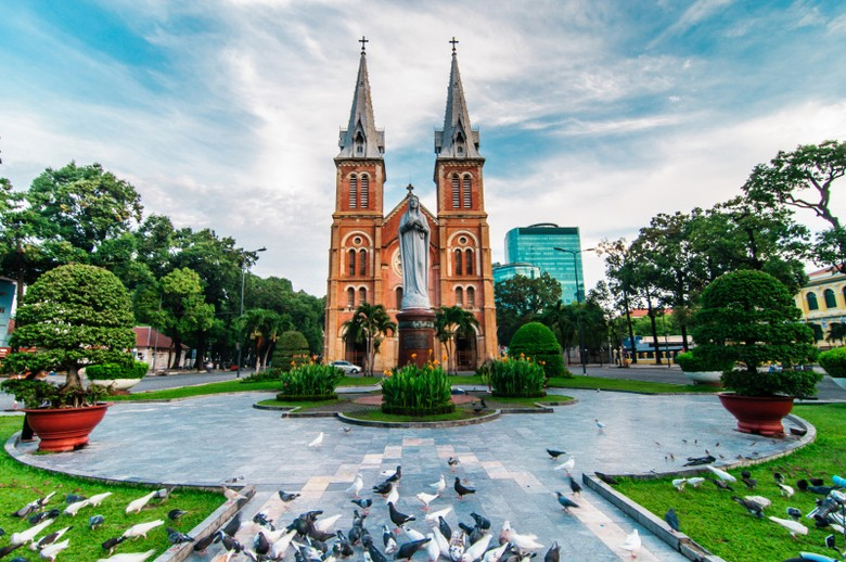 Katedral ala Eropa ada di Ho Chi Minh (Thinkstock)
