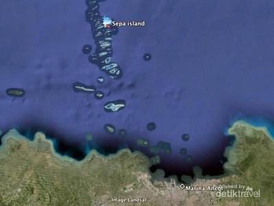 Pulau Sepa, Si Cantik yang Tak Jauh dari Jakarta