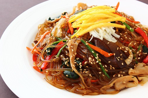 Japchae Makanan Korea