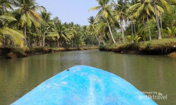 wisata sungai maron pacitan Kali Cokel Saingannya Sungai Maron Di Pacitan