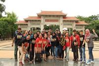 Dtraveler saat berkunjung ke Taman Budaya Tionghoa di TMII