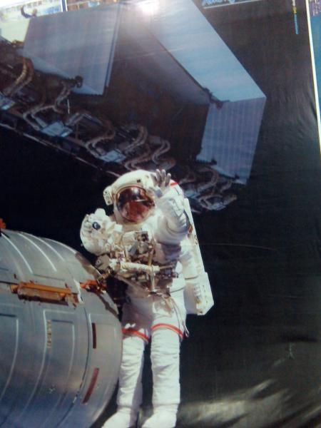 Gambar seorang astronot