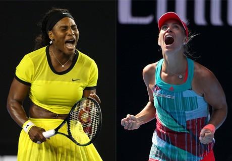 Serena atau Kerber?