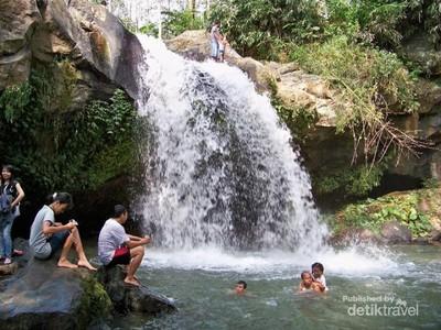 Air Terjun Panglebur Gongso, Yang Segar-segar di Kendal