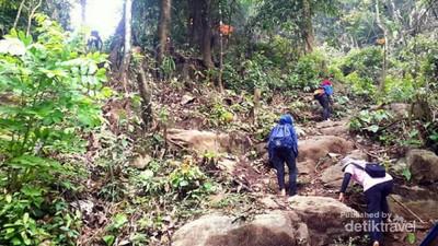 Yang Segar dari Kota Padang: Air Terjun Sarasah Ulu Gadut