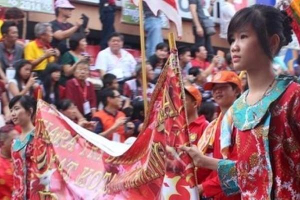 Suasana Cap Go Meh di Singkawang (Utami/detikTravel)