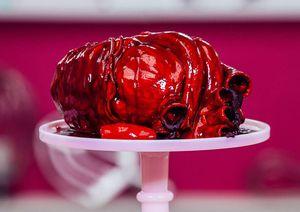 Cake Bentuk Jantung Manusia Ini Bisa untuk Ekspresikan Rasa Cinta