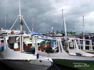 Wajah Pelelangan Ikan Paotere di Makassar