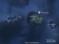 Peta lokasi Batu Kapal