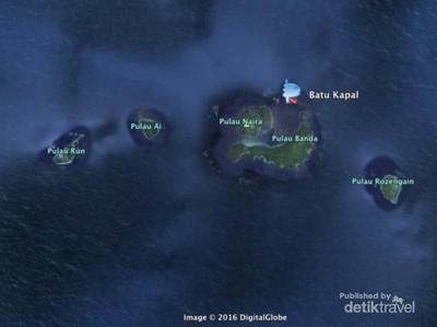 Kerajaan Bawah Laut nan Indah di Batu Kapal, Banda Neira