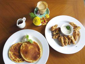 Nolita: Menikmati Mocha Latte Ditemani Pancake Klasik yang Gurih Empuk