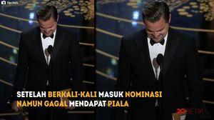 Akhirnya Leonardo DiCaprio Bawa Pulang Oscar