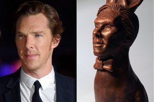 Wajah Benedict Cumberbatch Diwujudkan dalam Cokelat Kelinci