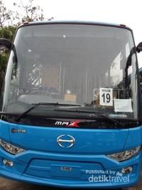 Penampakan  Bus Trans Kutaradja