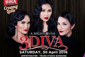 Ke Trans Studio Bandung 30 April, Tonton Konser 3 Diva