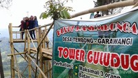 Tower Guludug di Bukit Panembongan