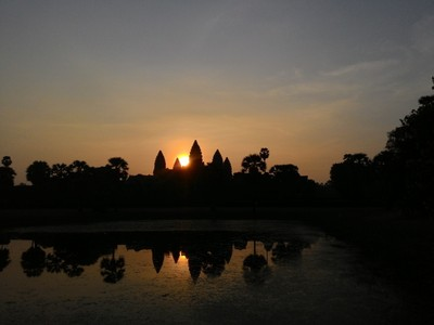 Matahari Terbit Terindah di Kamboja