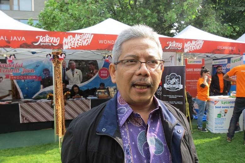 Dubes RI untuk Inggris Rizal Sukma (Fitraya/detikTravel)