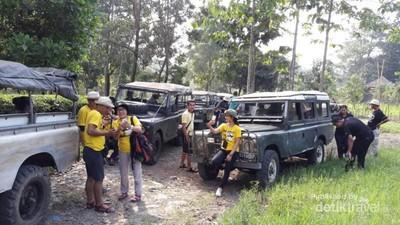 Off Road Seru di Royal Safari Garden, Puncak