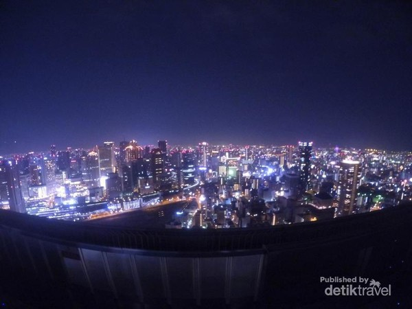 Umeda Sky Building (admission fee 800 yen)