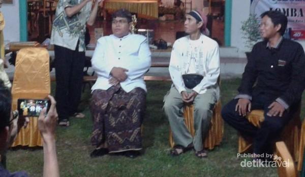 Sultan Keraton Kacirebonan bercerita tentang nasi bogana