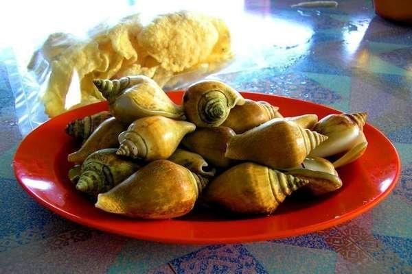 Kuliner Gonggong khas Kepulauan Riau (Merza Gamal/d'Traveler)