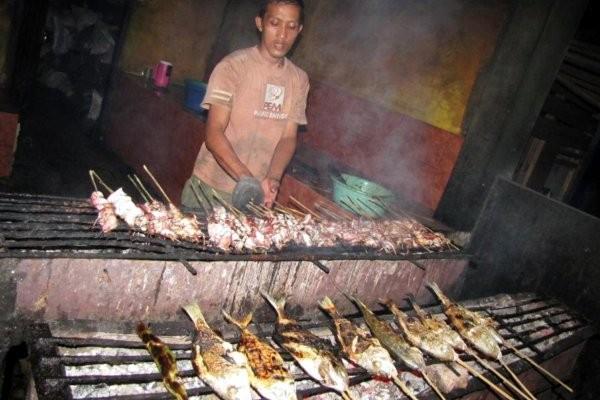 Salah satu kuliner seafood sedap khas Banten (Fitraya/detikTravel)