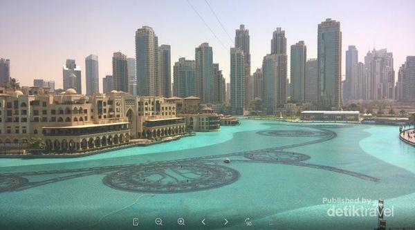 Begini Serunya Main Flying Fox Di Antara Gedung Bertingkat Dubai