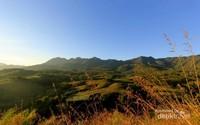 Pemandangan di salah satu sudut kota Ruteng