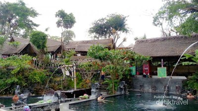 Libur Idul Adha di Bali, Rileks Dulu di Batur Hot Spring