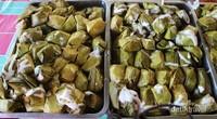 Lapek Bugih yang dijual di pasar tradisional