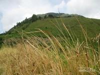 Gunung Sipiso-Piso sebelum berkabut