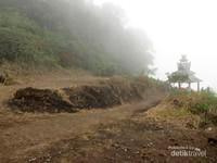 Kabut di puncak Gunung Sipiso-Piso