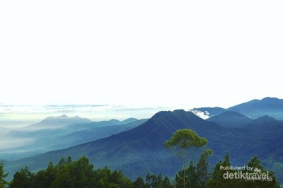 Satu Lagi Gunung yang Cantik di Kabupaten Bandung