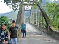 Salah satu jembatan tertua di Sumatera Utara