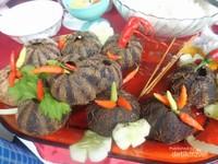 Tiye tiye, makanan khas Selayar dari bulu babi