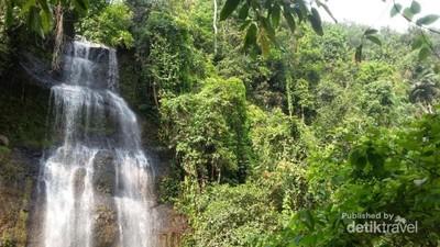 Cimandaway, Air Terjun Cantik & Tertinggi di Cilacap