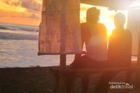 Sunset Pantai Jetis