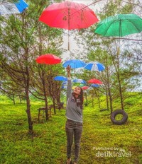 Taman Payung Pantai Jetis