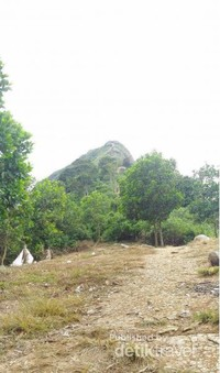 Area camping berlatarbelakang puncak bayangan gunung batu.jpg